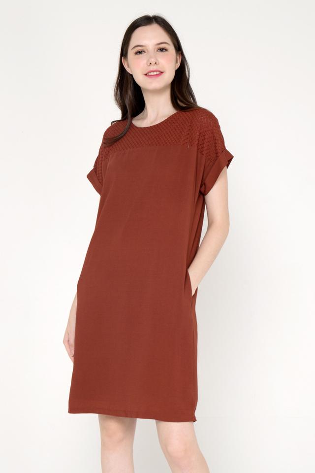 Cottrell Oversize Pocket Dress