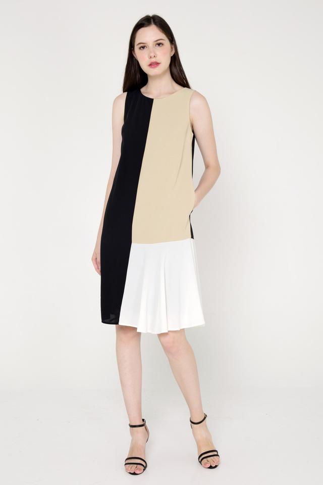 Debera Colourblock Dress