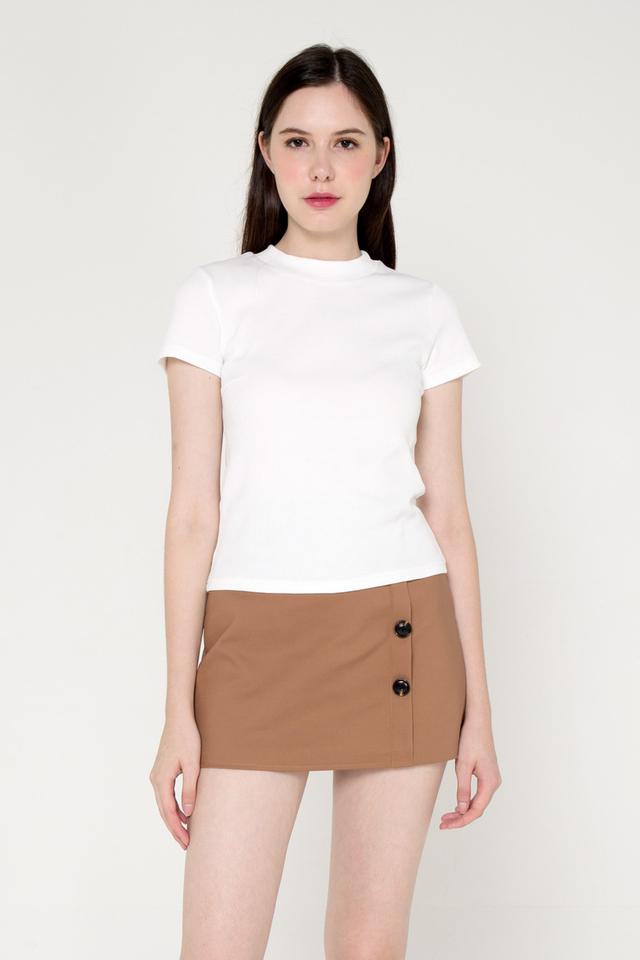 Belinda Basic Top (White)