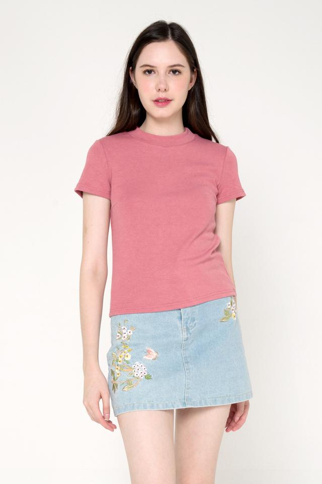Belinda Basic Top (Pink)