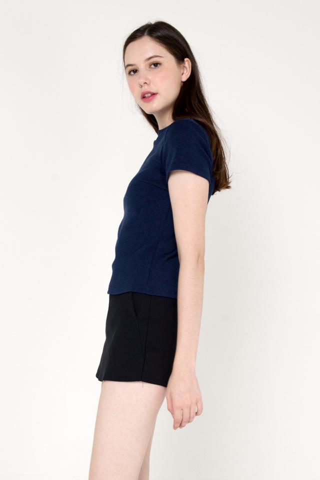 Belinda Basic Top (Navy Blue)