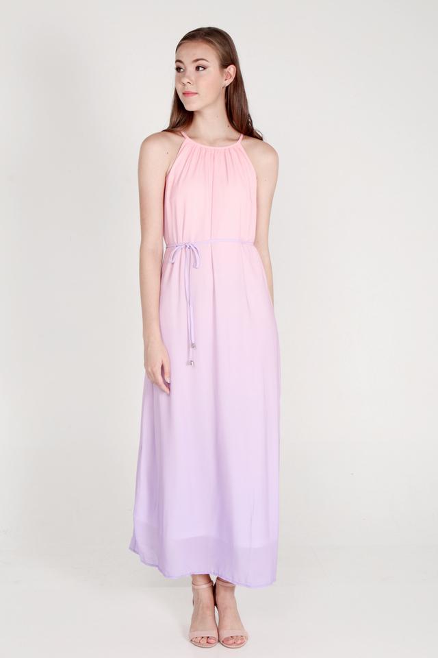 Sharell Ombre Maxi Dress (Pink/Lilac)