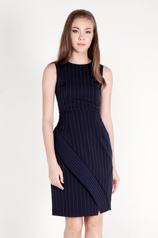 Cordie Work Dress (Navy Blue)