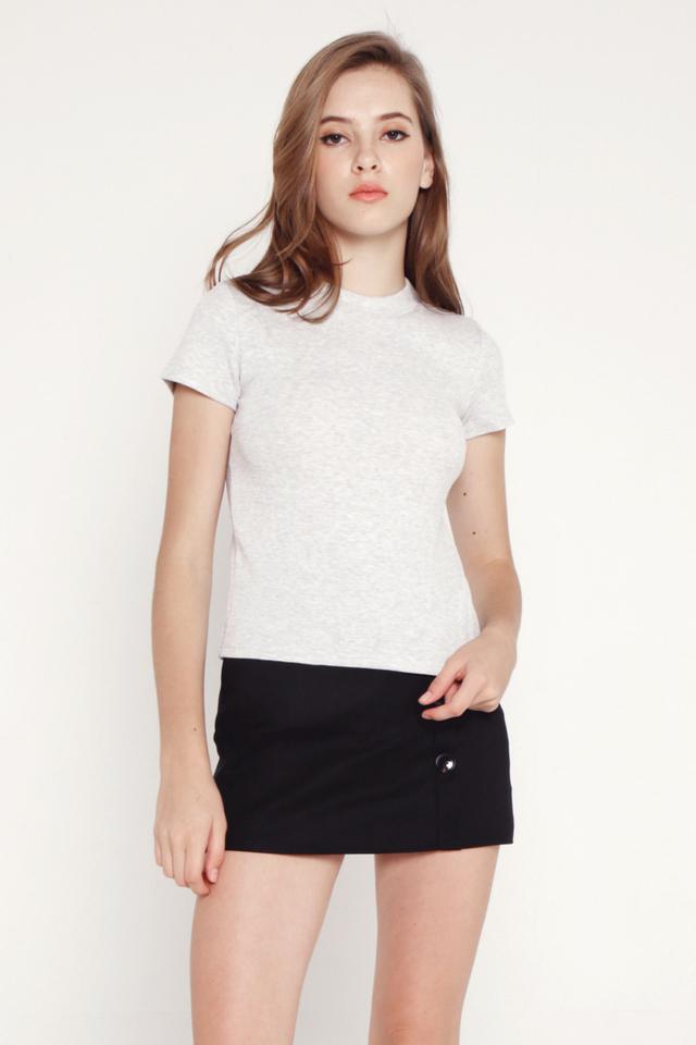 Belinda Basic Top (Grey)