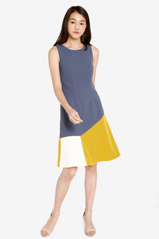 Dagny Colourblock Dress