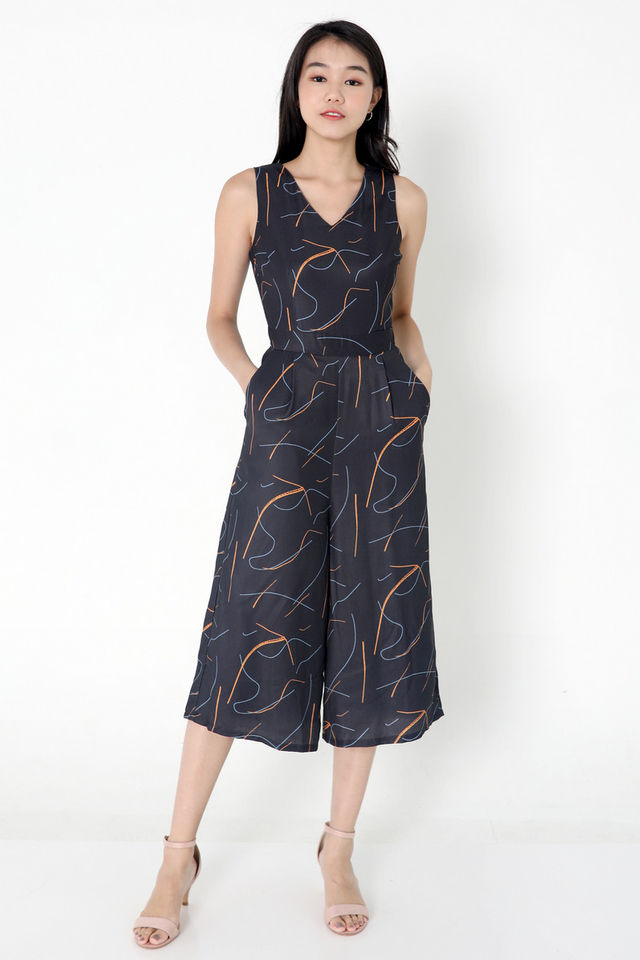 Lutz Printed Jumpsuit