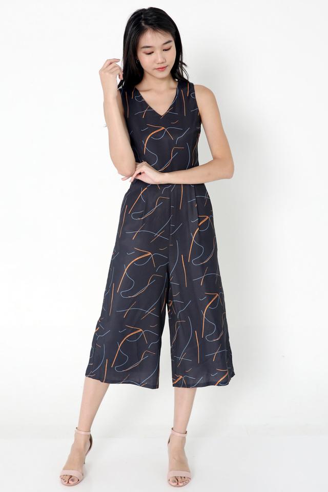 Lutz Printed Jumpsuit
