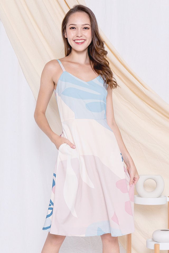 Brenda Spag Twirl Dress (Pink)