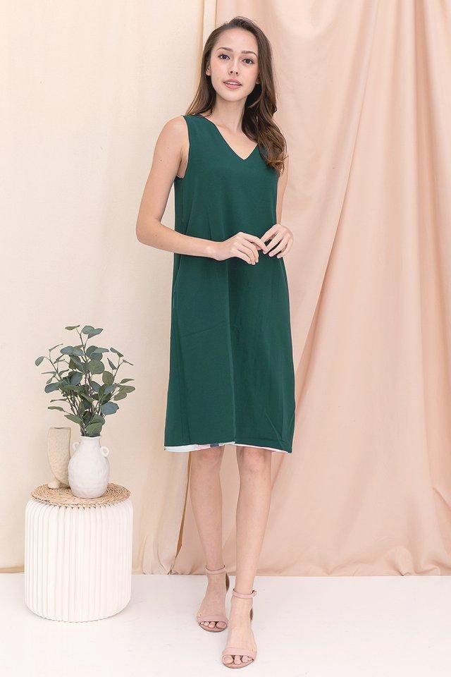 Tess Reversible Abstract Dress (Pink)