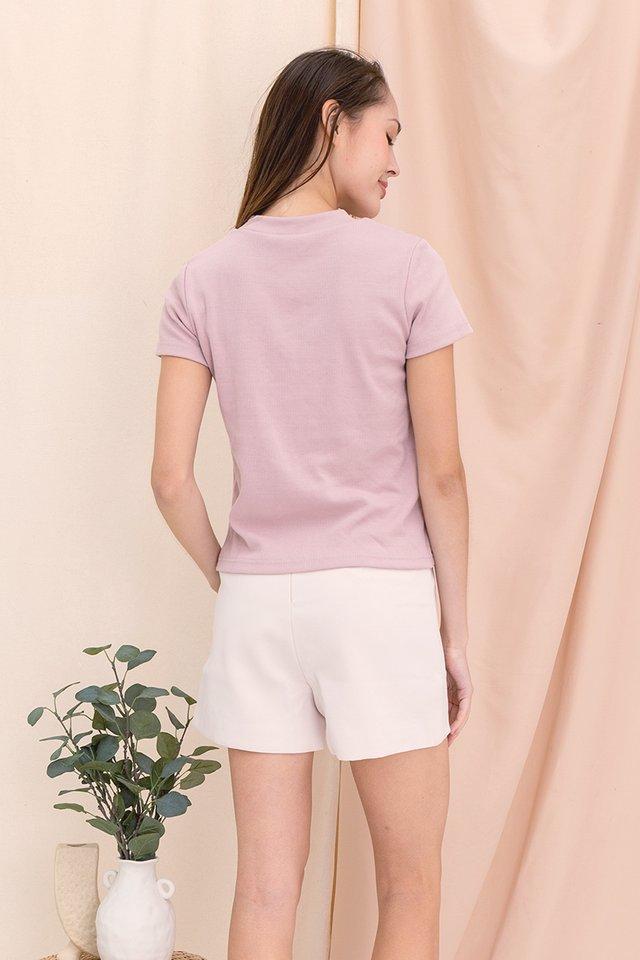 Belinda Basic Top (Dusty Pink)