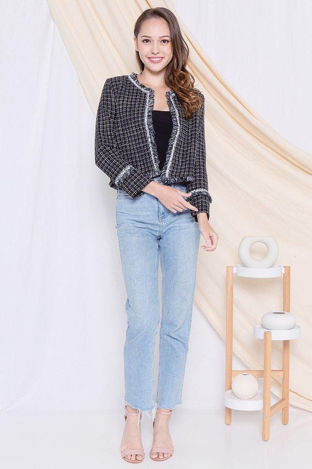 Alger Tweed Jacket (Black)