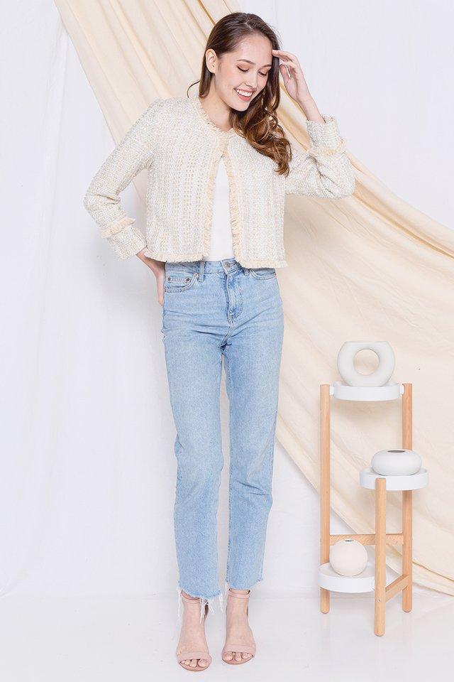 Alger Tweed Jacket (Cream)