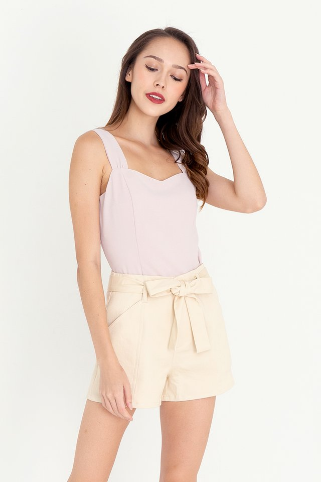 Troy Thick Straps Top (Pink)
