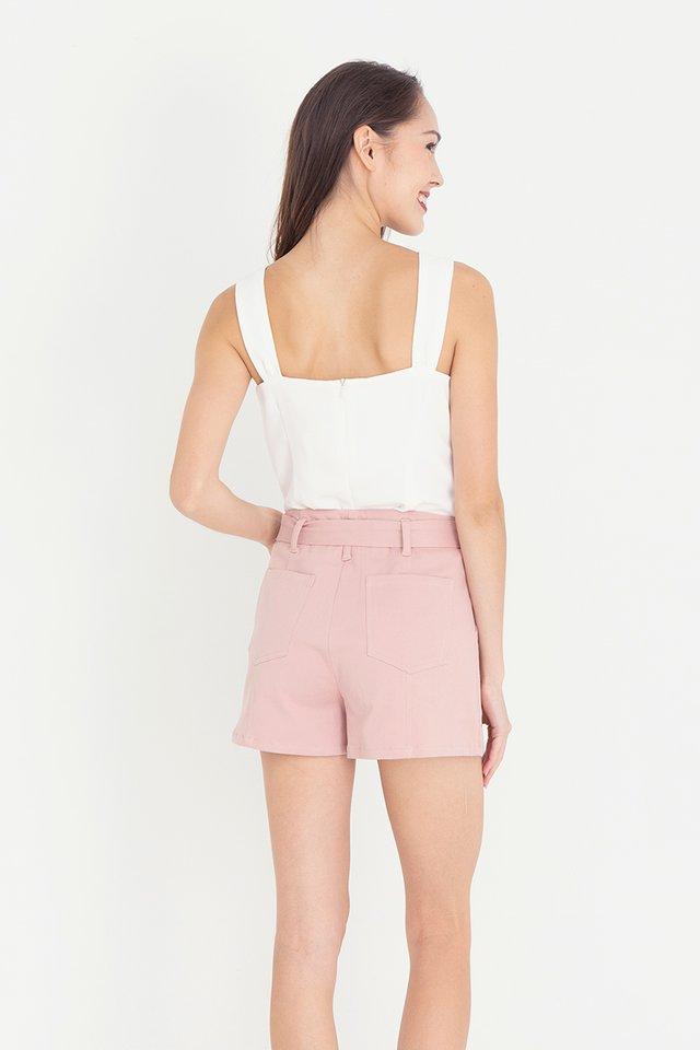 Keith Piping Shorts (Pink)