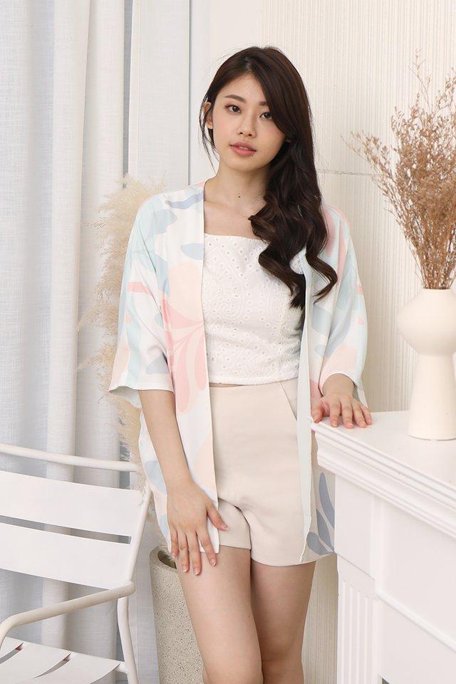 Nina Reversible Kimono Jacket (Sage Green)