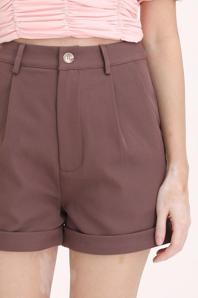 MADEBYFLEUR Darina Classic Shorts (Mauve)