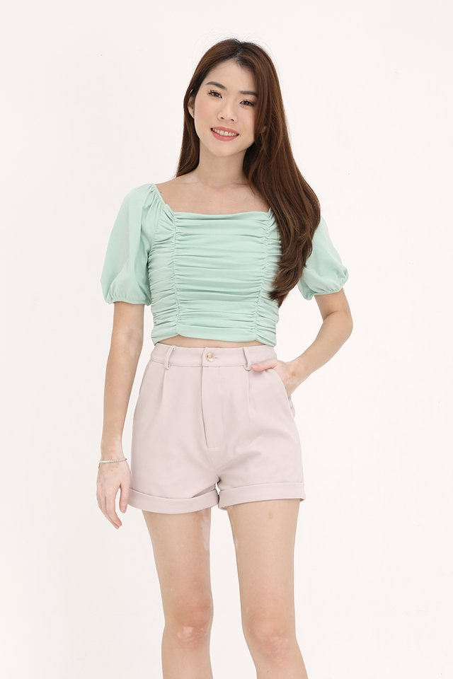 MADEBYFLEUR Darina Classic Shorts (Cream)